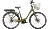 Green Winther Superbe 2 El cykel 36 Volt 7 gear